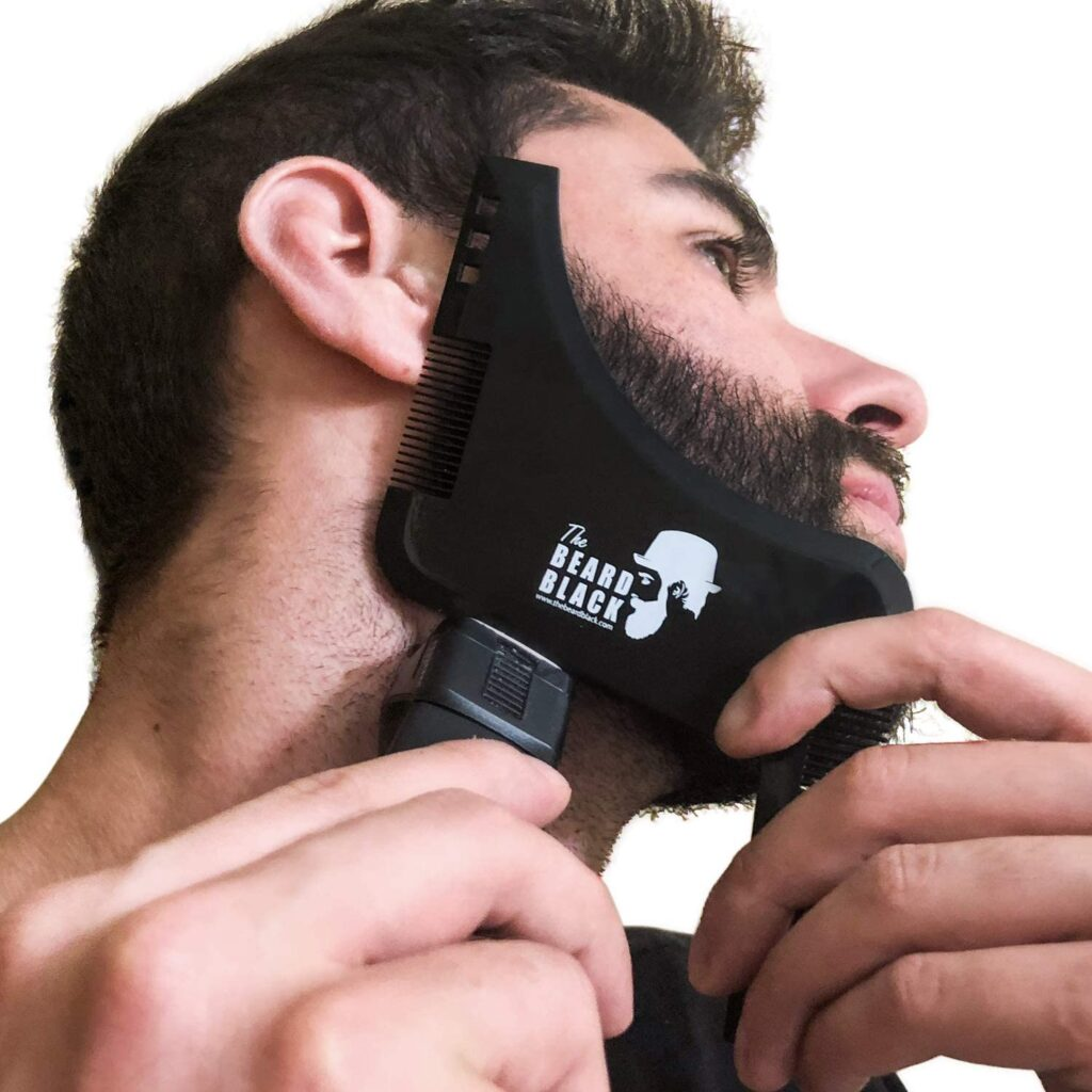 The Beard Black Beard shaping and Styling