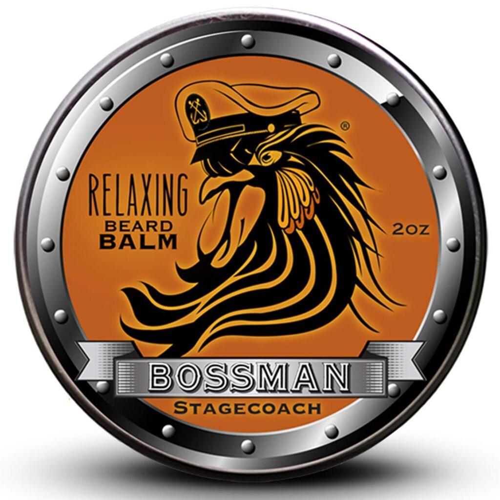 2. Bossman Beard Balm