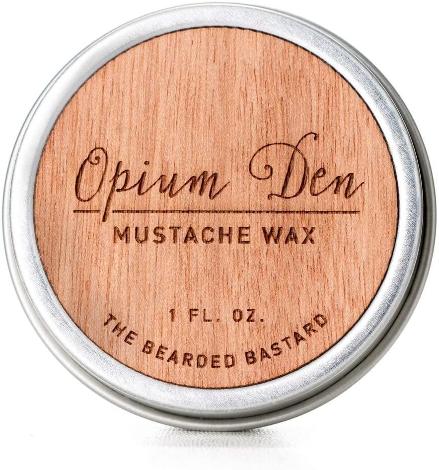 2. Opium Den Mustache Wax