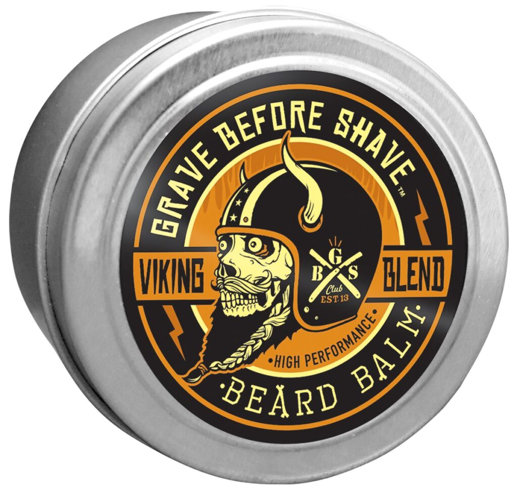 3. Viking Blend Beard Balm by Grave Before Shave